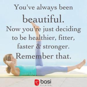Pilates Inspirational Quotes