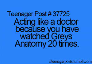 funny, greys anatomy, quote, series, teenagerpost, true, 20 times ...