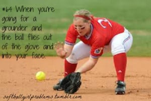 "submitted by anon ! softball girl problem #64""When you're going ..."