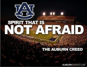 Spirit that is not afraid