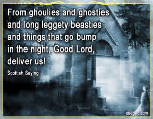 ... Beasties And Things That Go Bump In The Night, Good Lord, Deliver Us