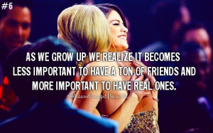 friendship taylor and selena