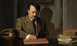 The full wax ... Hitler's model at Madame Tussauds in Berlin ...