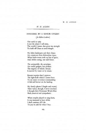 Senior Citizens Poems
