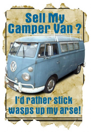... White T-Shirt, Sell My VW Camper Van Funny Quote Ideal Present. | eBay