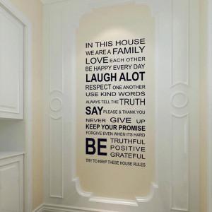 5set-lot-Wholesale-Transparent-PVC-Removable-Family-Quotes-Sticker ...