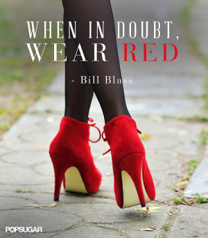 One thing that's never been more black and white: the boldness of red.