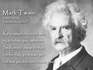 Mark twain great ...