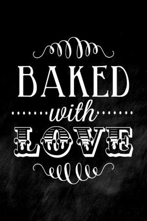 ... Chalkboard art #quote ToniK ℬe Meℜℜy lilluna.com Baked with Love
