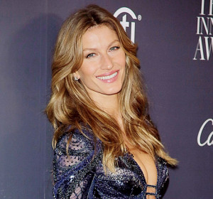 Gisele Bundchen says she doesn't own a hairbrush, and only watches the ...