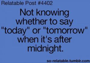 Night shift problems...