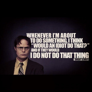 best Dwight quote ever