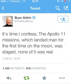 Buzz Aldrin Admits Apollo 11 Moon Landings Were FAKE and Simply A Set ...