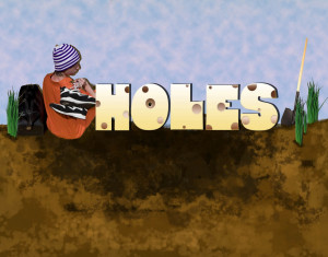 Showing And Telling Holes Louis Sachar