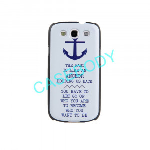 Anchor Quotes Tattoos Retro style anchor quote