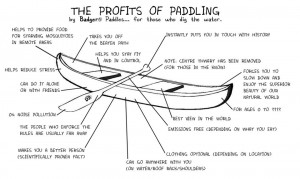 ... in General | Comments Off on Profits of paddling from Badger Paddles