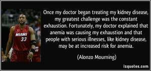 More Alonzo Mourning Quotes