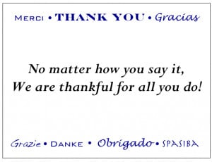 Thank You Quotes For Employees Worldwide thank you enclosure
