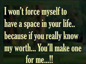 Wont Force Myself