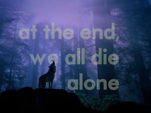 landscapes_forest_quotes_wolves_despair_solitude_howling_wolf_desktop ...
