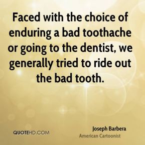 Toothache Quotes