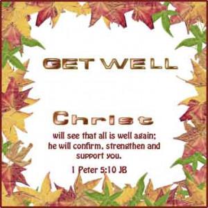 Get Well Soon Bible Verses Kootation
