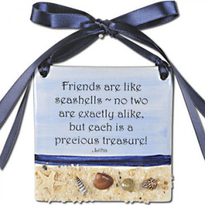friends are like seashells