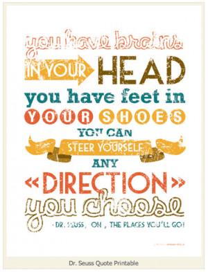 Graduation Quotes Dr Seuss Being a huge dr. seuss fan,