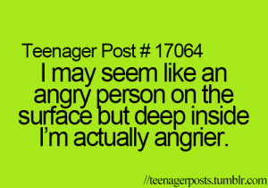 angry, quote, teenager post