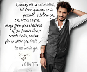 Johnny Quotes - johnny-depp Fan Art