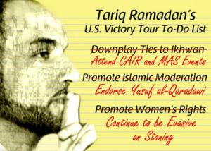 ... Tariq Ramadan, the grandson of Muslim Brotherhood founder Hassan al