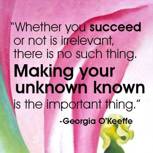 Quote - Georgia O'Keeffe #quote