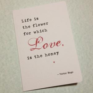 Honey i love poems