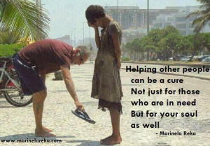 People Helping Other People Helping-others-shoes