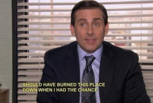 Funny Office Quotes Michael...