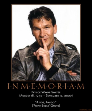 patrick swayze quotes outsiders