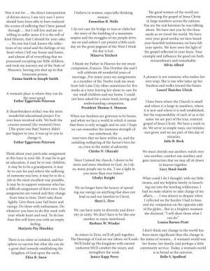 Mormon Women quotes