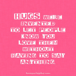 Cute Hug Quotes Pic #24