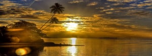 Sunrise Beach Tropical Facebook Cover