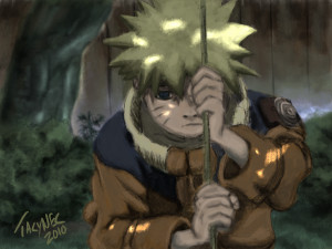 Naruto Loneliness Loneliness - naruto by