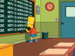 Bart Simpson's Funniest Blackboard Quotes