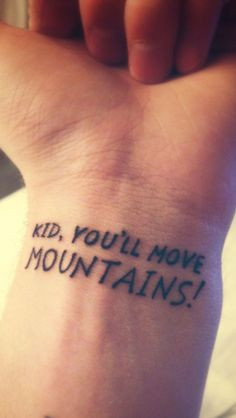 kid you ll move mountains love this dr seuss quote