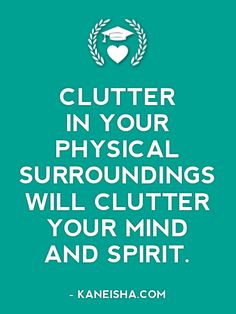 Organizing- Quotes & Sayings