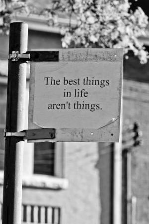 oh, life's simple joys