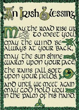 Irish Quotes Sayings About Ireland And Irish Blessings Toasts Irish