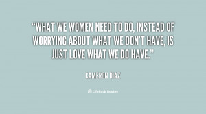 What Women Want Quotes