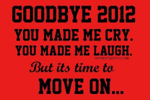 New year sayings its time to move on