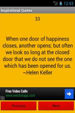 Inspirational Sayings Quotes- screenshot