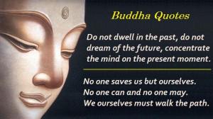 Buddhist Thought – Dwell on Past