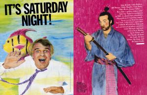 It's Saturday Night!